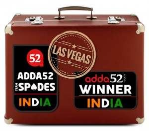 Adda52 Poker players Team - Fly to Vegas