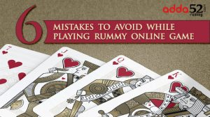 Six Mistakes to Avoid While Playing Rummy Online Game