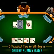 Six Practical Tips to Win Big in Online Rummy Game