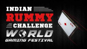 Indian Rummy Challenge at World Gaming Festival