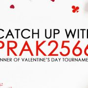 Catch up with prak2566 Winner of Valentine's Day tournament
