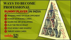 Ways to Become Professional Rummy Player in India