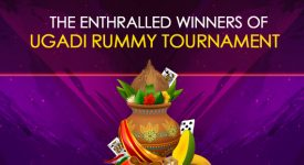 The Enthralled Winners of Ugadi Rummy Tournament