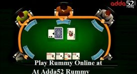 How to play online rummy at adda52 rummy