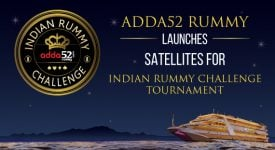 ADDA52 RUMMY LAUNCHES SATELLITES FOR INDIAN RUMMY CHALLENGE