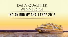 Daily Qualifier Winners of Indian Rummy Challenge 2018