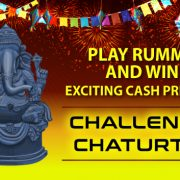 Play Rummy and Win Exciting Cash Prize at Chaturthi Challenge