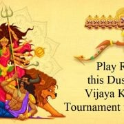 Play Rummy this Dusshera at Vijaya Kaandan Tournament