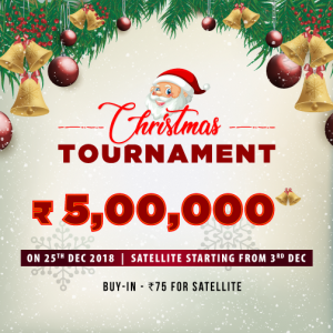 How to Play Rummy Christmas tournament and win 5 Lakhs