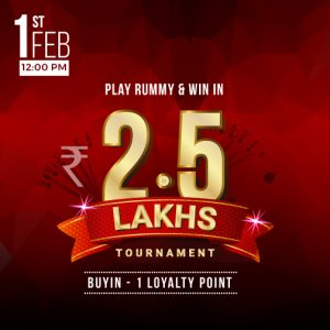 How to win 2.5 Lacs with 1 LP in Rummy Online