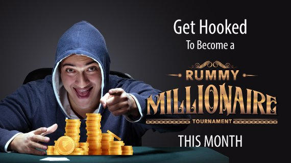 Get hooked to become a rummy millionaire this month