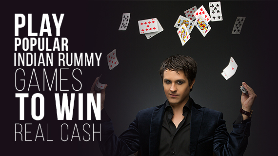Play popular Indian rummy games to win real cash