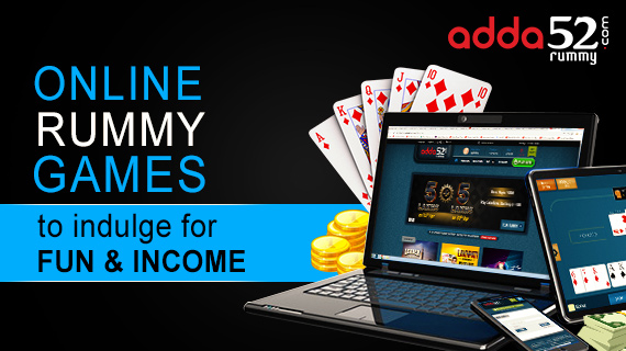 Online rummy games to indulge for fun and income