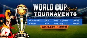 Enjoy Online Rummy World Cup Tournaments Special