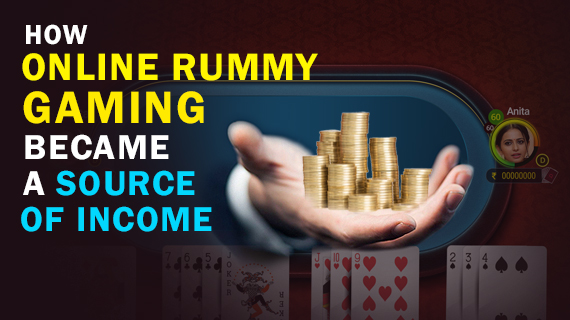 How online rummy gaming became a source of income