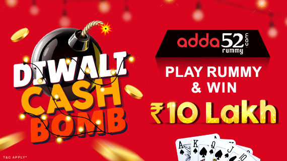How to win upto 43 lakhs this October at Adda52 Rummy