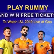 Play Rummy And Win Free Tickets To Watch ISL 2019, Goa
