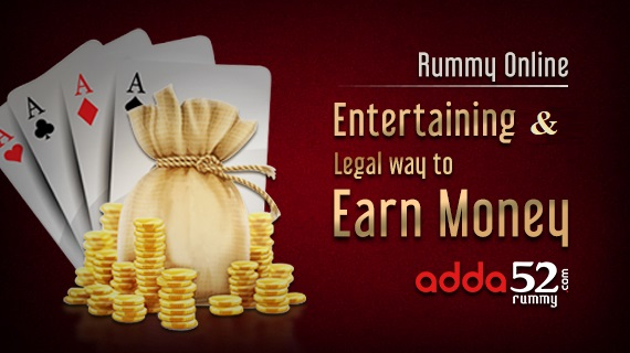 Rummy Online: Entertaining And Legal Way To Earn Money