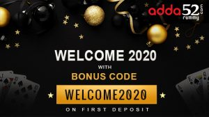 """Grab NEW YEAR Welcome Bonus """"WELCOME2020"""" & Win Rs 10,250"""