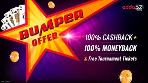 Make Deposit and Win Bumper Offer at Adda52 Rummy