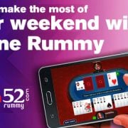 How to make the most of your weekend with online rummy