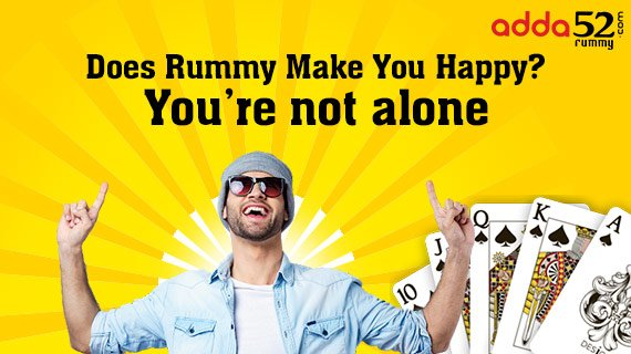 Does Rummy Make You Happy? You're not alone