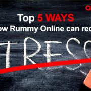 Top 5 ways on how rummy online can reduce stress