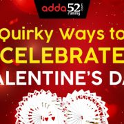 Quirky ways to celebrate Valentine's Day