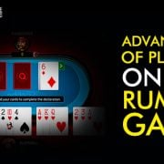 Advantages of playing online rummy game