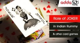 Role of joker in Indian Rummy and other card games