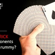 How to trick your opponents in online rummy?