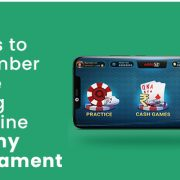 Things to remember before joining an online Rummy tournament