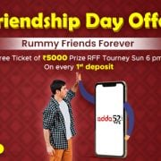 Celebrate Friendship Day with Rummy Friends Forever Tournament