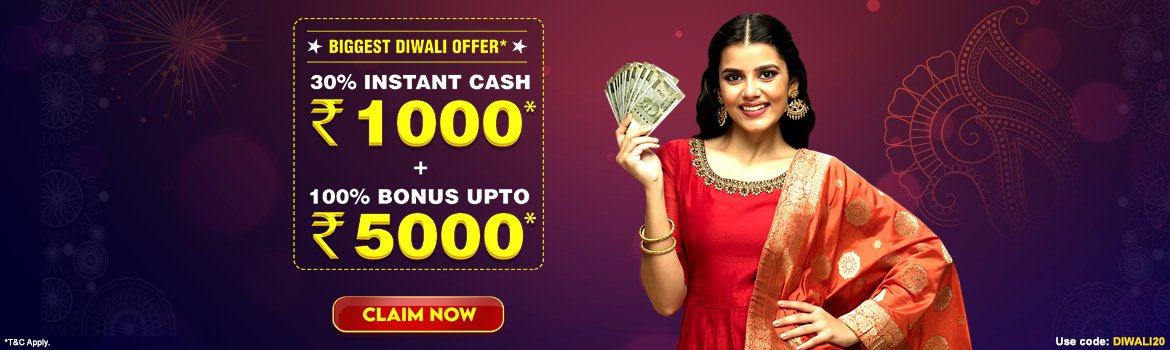 This Diwali, Play Rummy & Win Cash with Exciting Offers